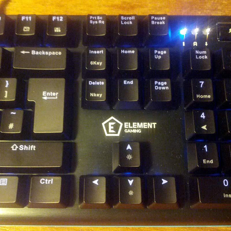 Element Gaming Beryllium keyboard and a short story
